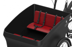 Triobike Boxter 4 Kids Seats Black