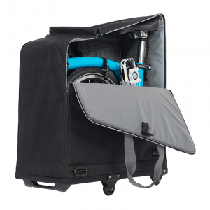 Brompton Padded Travel Bag with 4 wheels