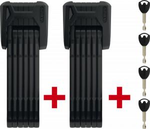 Abus Folding Locks Bordo Granit XPlus 6500/85 Twinset + SH (ART2)