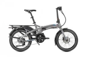 TERN Folding E-Bike Vektron P7i Satin Gunmetal Grey